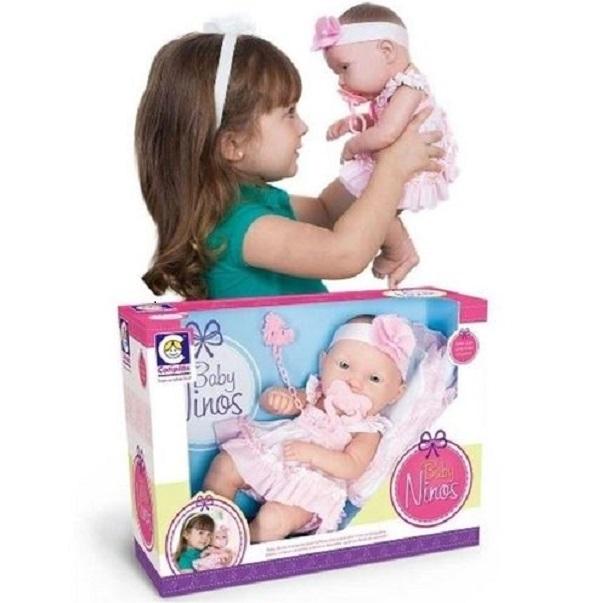 Boneca Baby Ninos - Cotiplas 2032