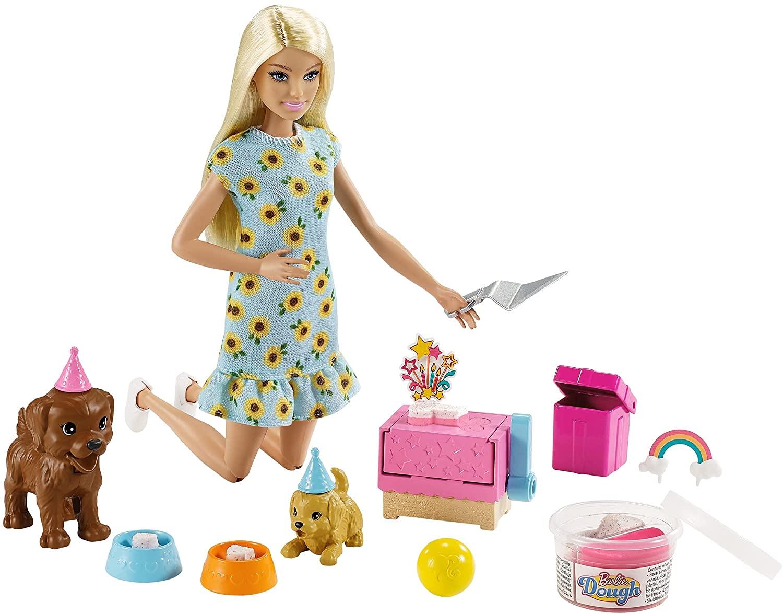 Boneca Barbie Aniversario do Cachorrinho - Mattel GXV75