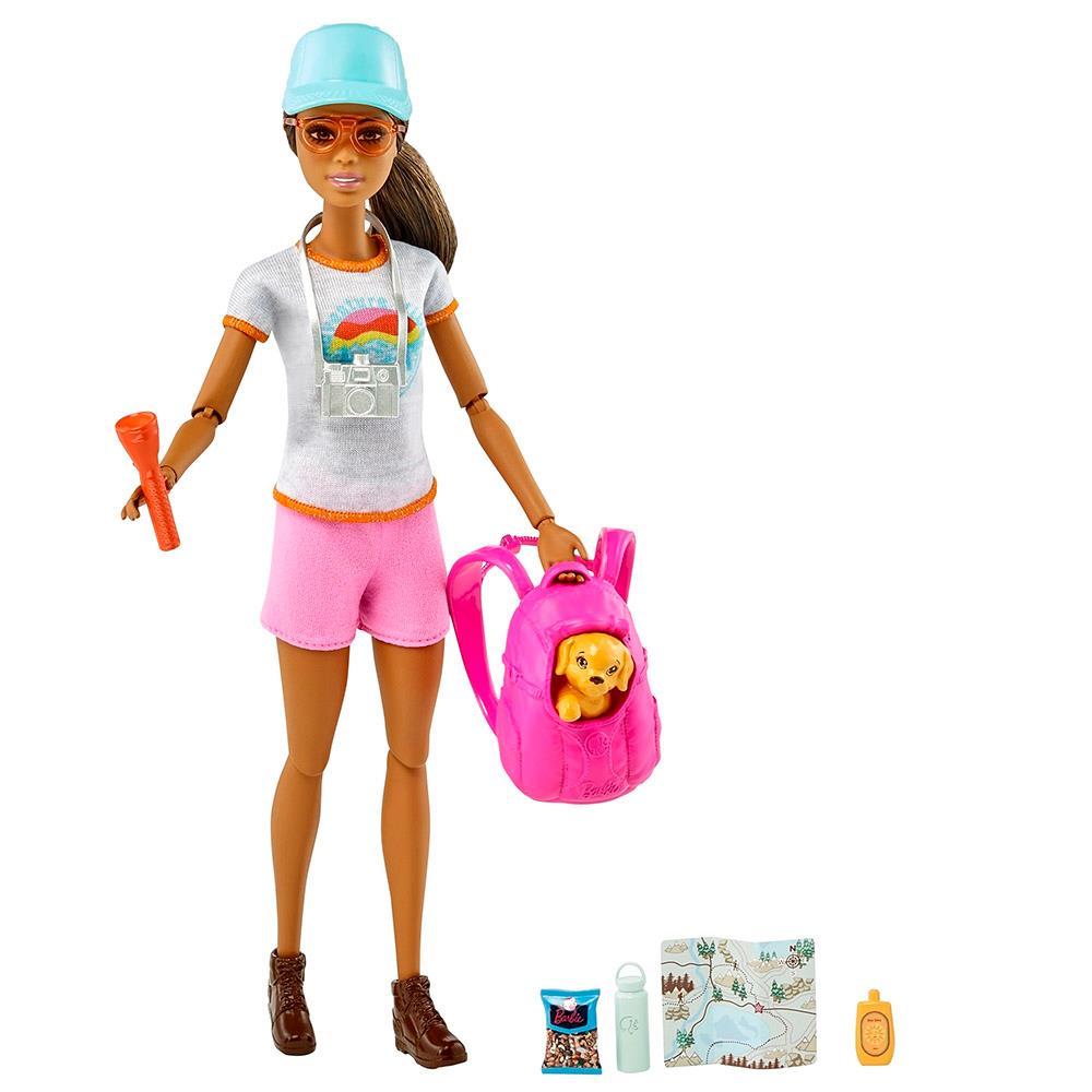 Boneca Barbie Bem-Estar Caminhada - Mattel GKH73