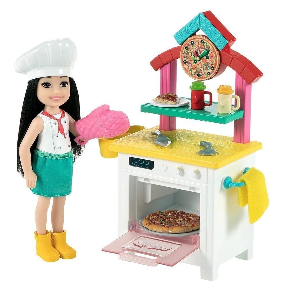 Boneca Barbie Chelsea Pizzaiola - Mattel GTR88