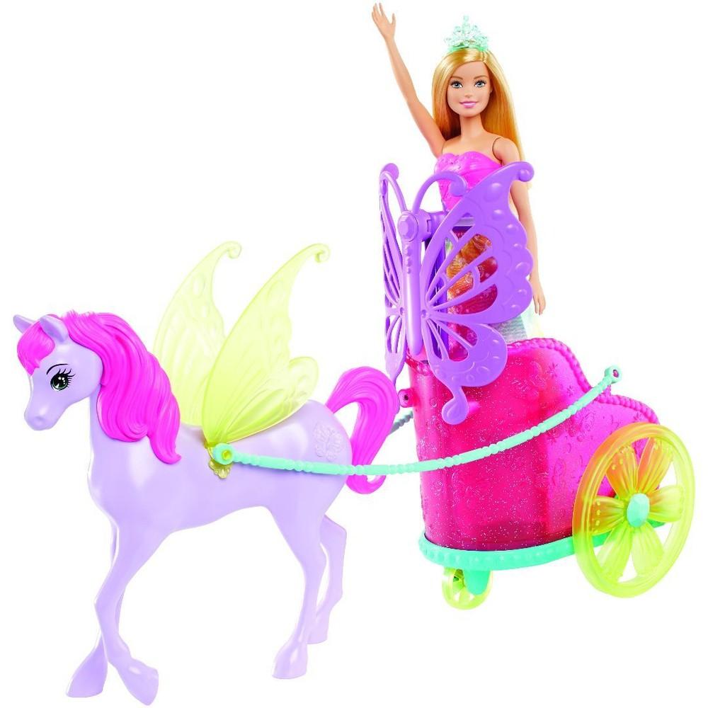 Boneca Barbie Dreamtopia Princesa com Carruagem - Mattel GJK53