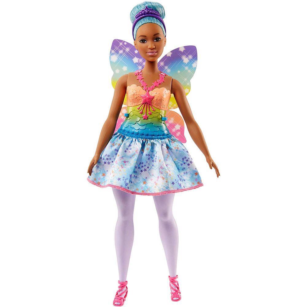 Boneca Barbie Fada Cabelo Azul - Mattel Fjc87