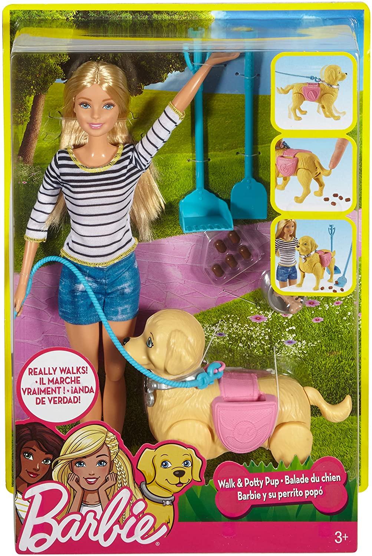 Boneca Barbie Passeio com o Filhote Pup - Mattel DWJ68