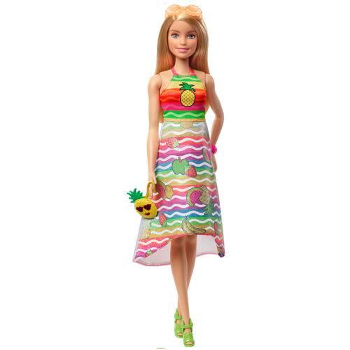 Boneca Barbie Super Frutas Crayola - Mattel GBK18