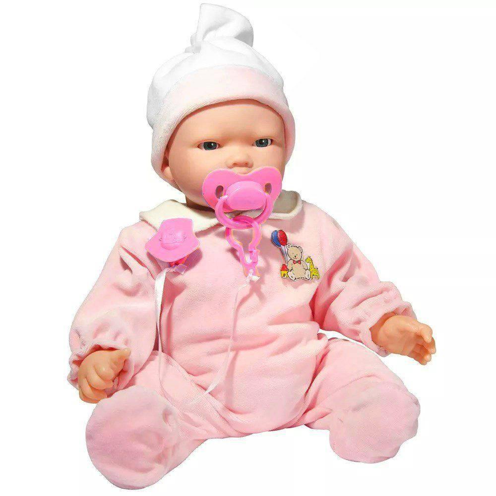 Boneca Bebê Carinhas 2018 - Baby Brink 1830