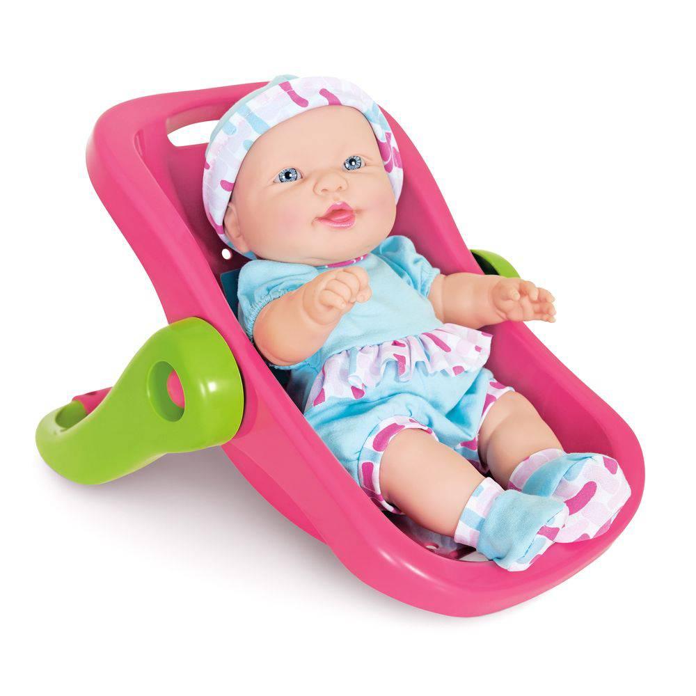 Boneca Coleção Baby Junior Bebê Conforto 2185 - Cotiplás