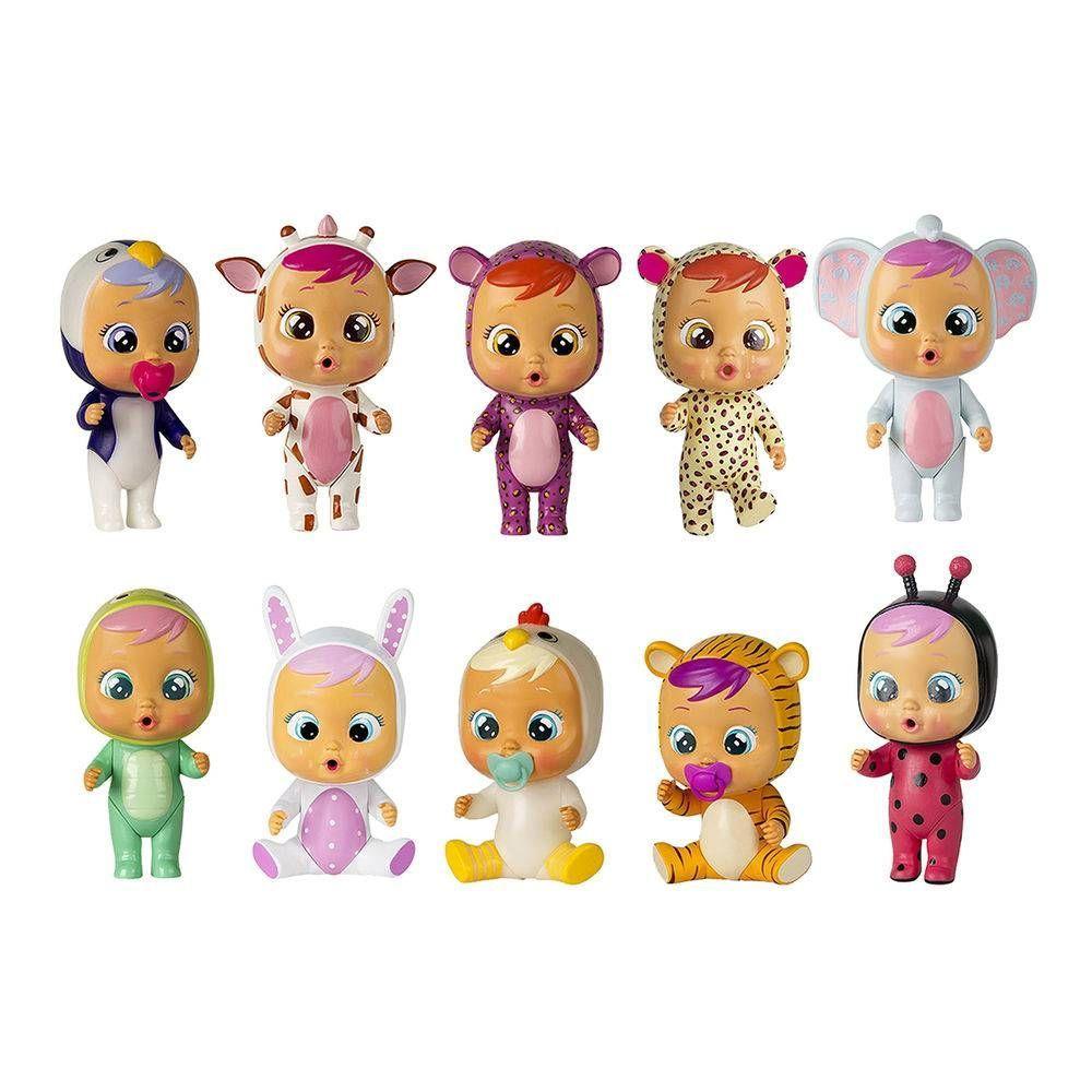 Boneca Cry Babies Magic Tears Rosa BR980 - Multikids