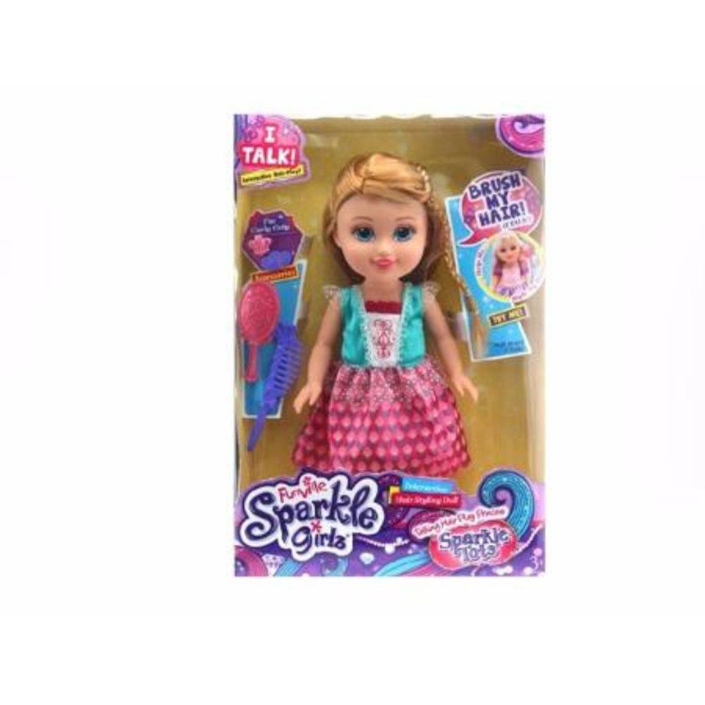 Boneca Funville Sparkle Girlz Princesa 4221 - Dtc