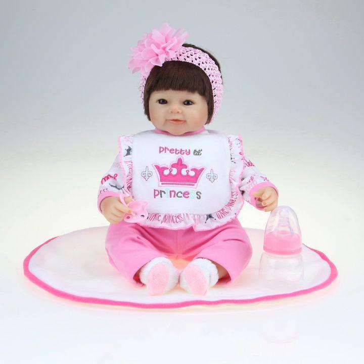 Boneca Kikita Doll Reborn Pretty Princess E - Fenix