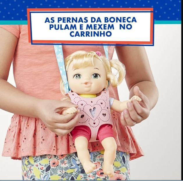 Boneca Little Baby Alive Turma Estilosa Loira - Hasbro E6646