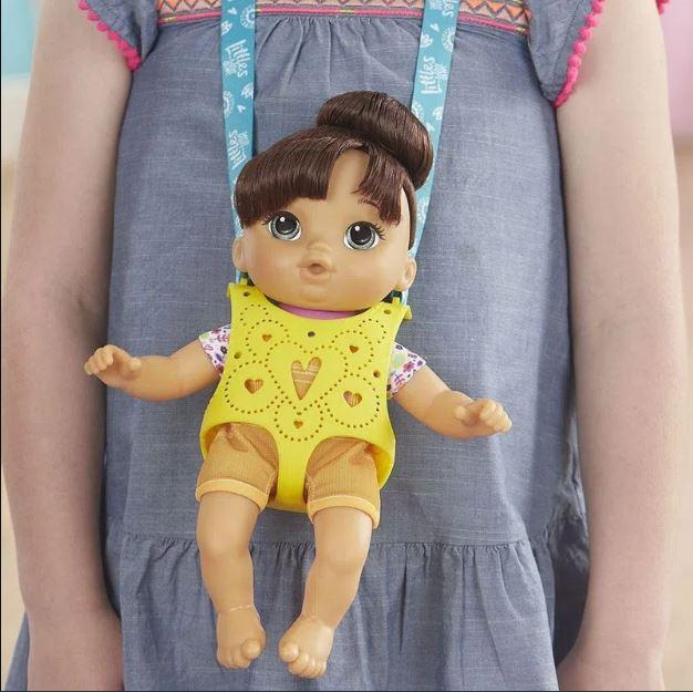 Boneca Little Baby Alive Turma Estilosa Moreninha - Hasbro E6646