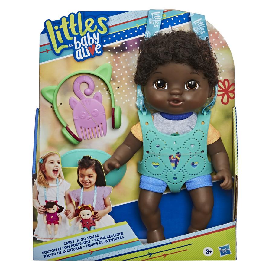 Boneca Little Baby Alive Turma Estilosa Negra - Hasbro E6646