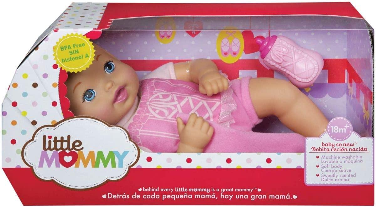 Boneca Little Mo Mommy Recém Nascido - Mattel FJL45