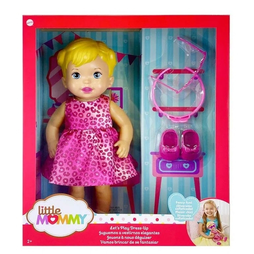 Boneca Little Mommy com Acessórios Fantasia - Mattel GXT00