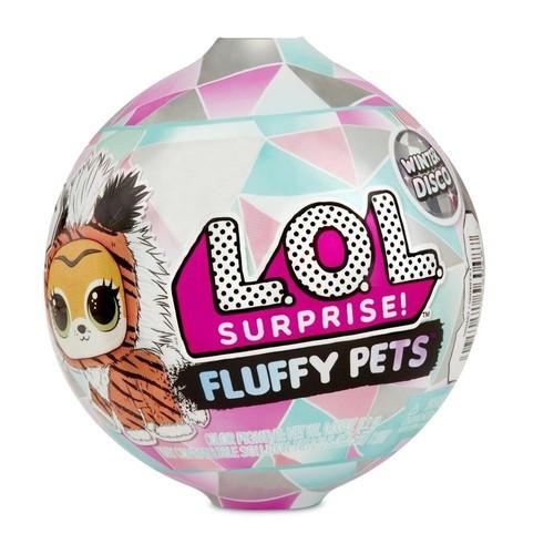 Boneca LOL 9 Surpresas Fluffy Pets Winter Disco-Candide 8929