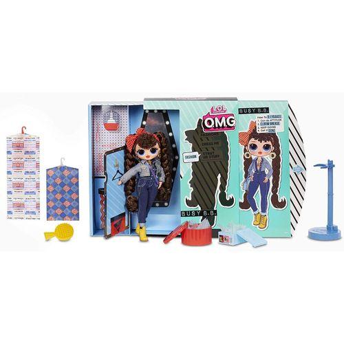 Boneca Lol Surprise OMG 20 Surpresas Série 2 Busy B.B.- Candide 8943