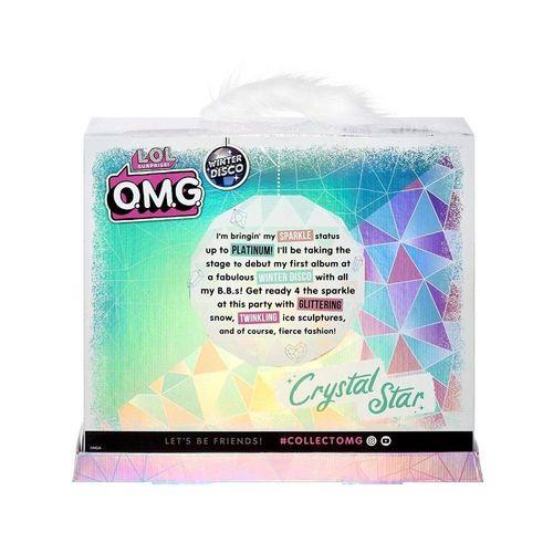Boneca Lol Surprise OMG Cristal Star - Candide 8936