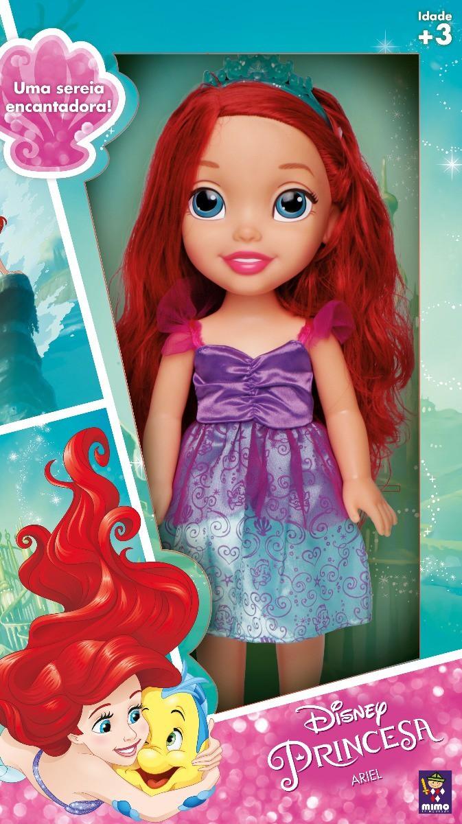 Boneca Princesa Ariel Disney - Mimo 6505