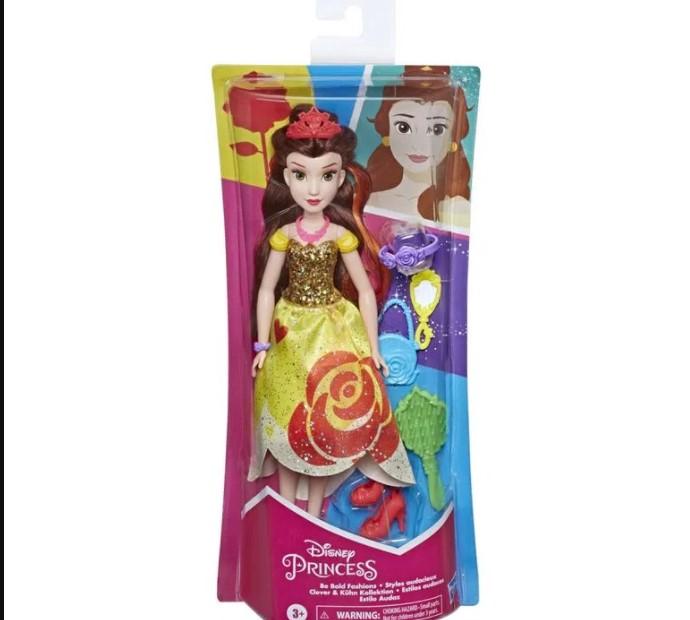 Boneca Princesa Bela com acessórios - Hasbro E3048