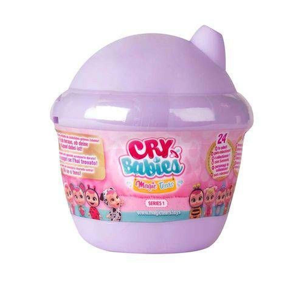 Boneca Surpresa Cry Babies Magic Tears Roxo BR980 - Multikids