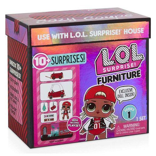 Boneca Surpresa LOL Forniture 10 Surpresas M.C.Swag - Candide 8930