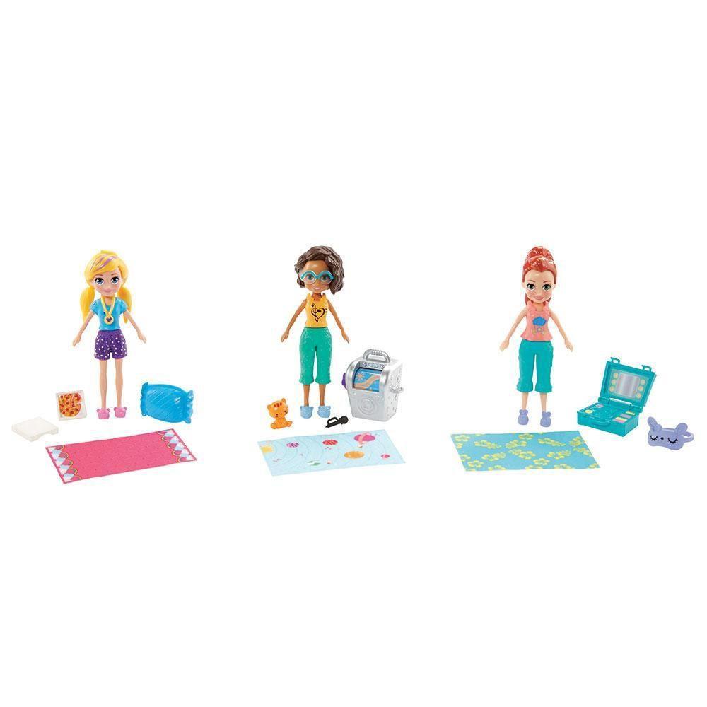 Bonecas Polly Pocket Club House da Polly - Mattel GMF82
