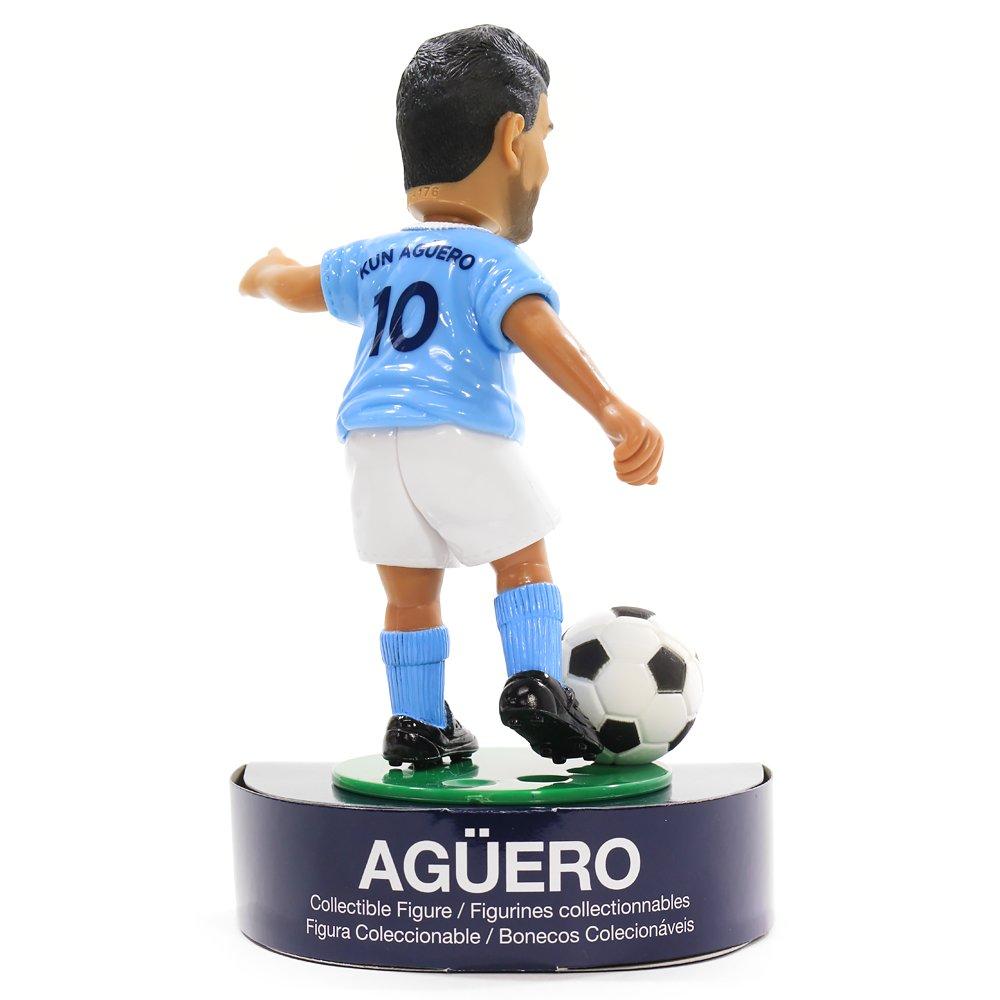 Boneco Art colecKun Aguero Manchester City Maccabi 8001