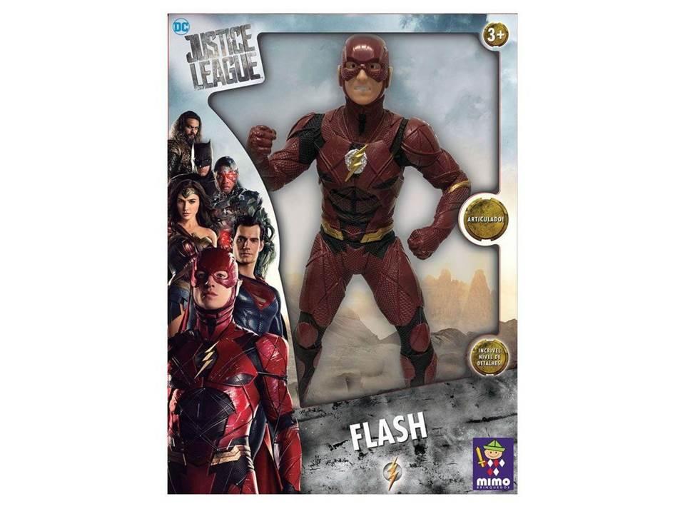 Boneco Articulado 50 Cm Liga Da Justiça - Flash 923 Mimo