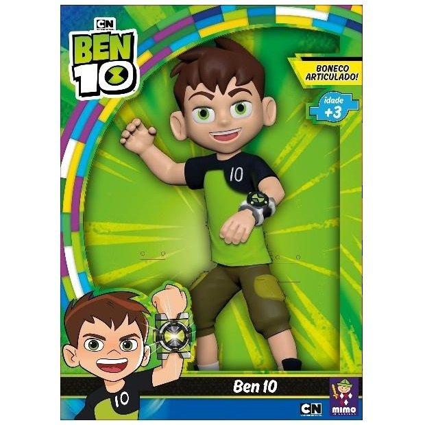 Boneco Articulado Ben 10 - Mimo 0650