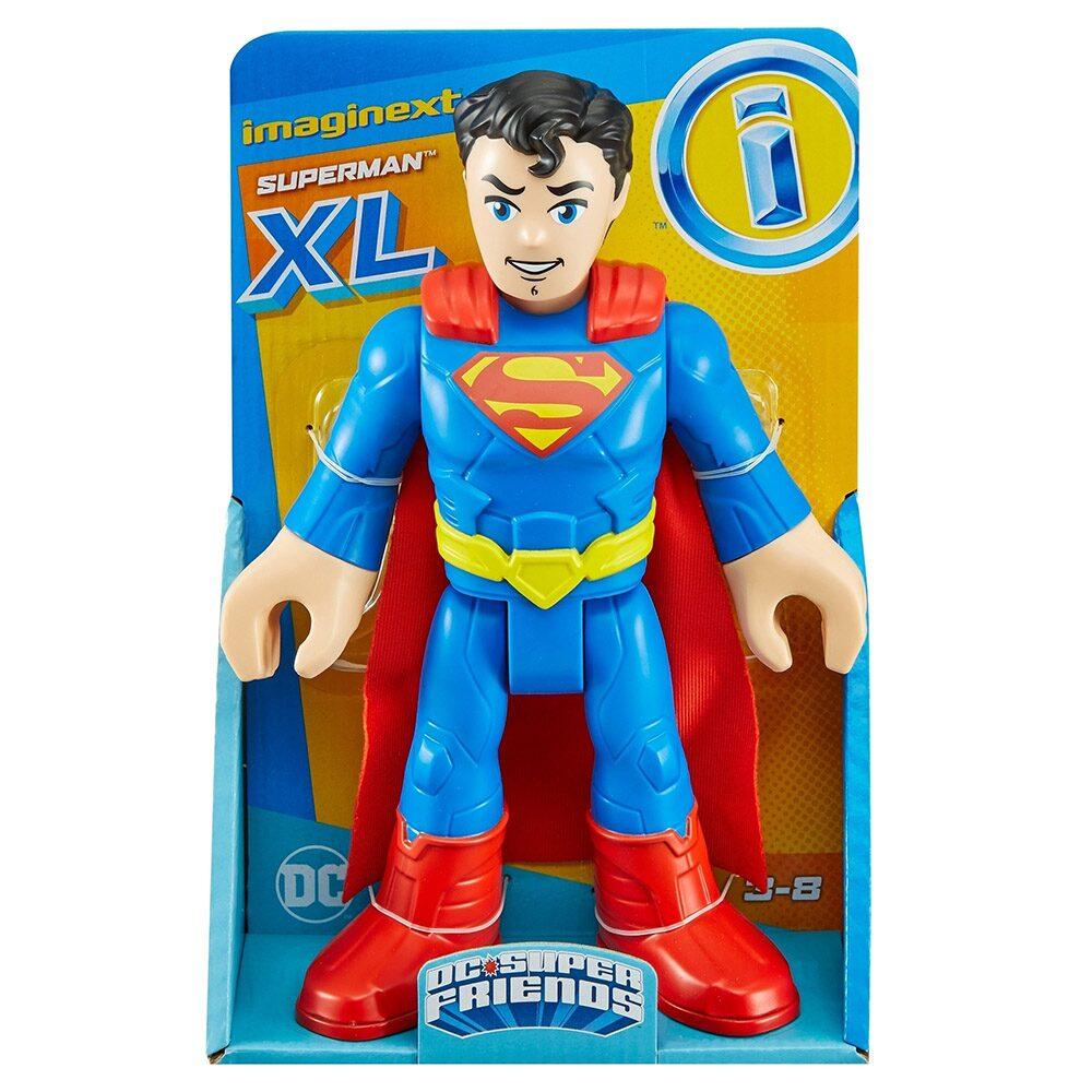 Boneco Articulado Imaginext DC Figuras de Ação Superman - Mattel GPT41