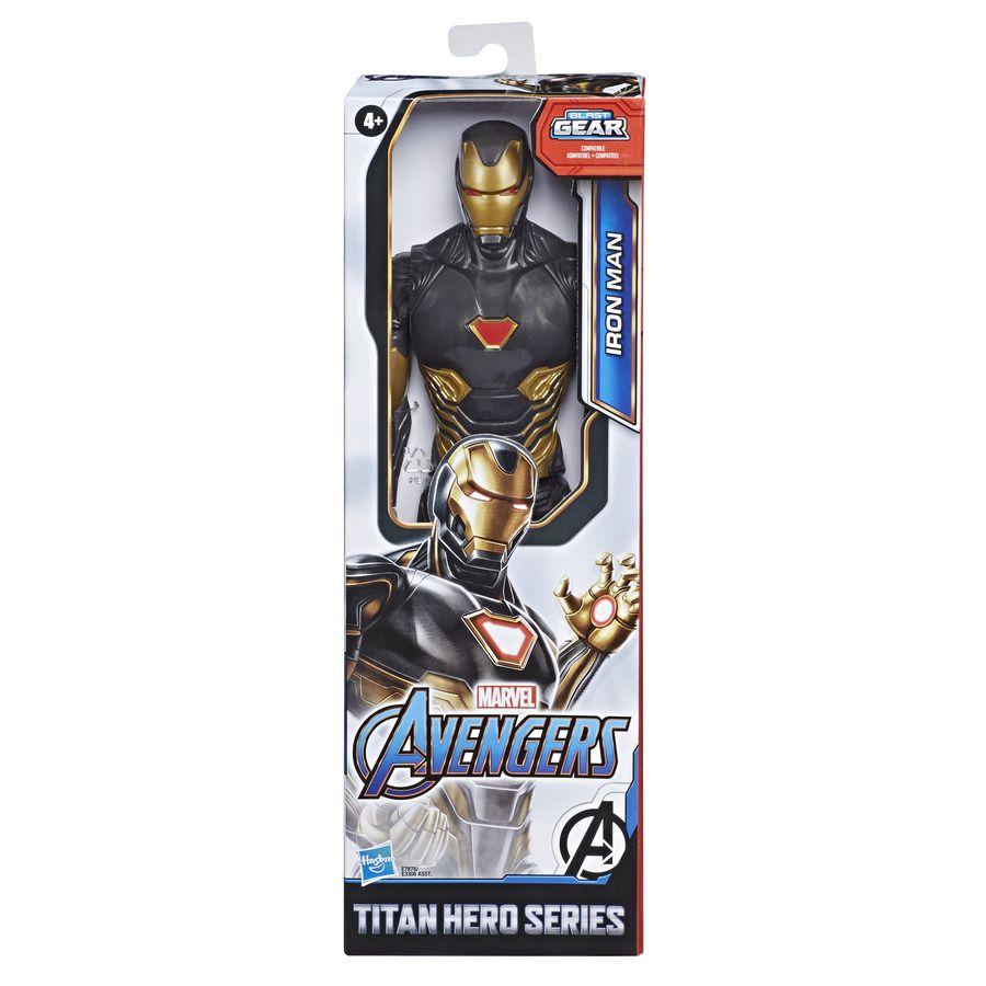 Boneco articulado Iron Man Black Suit - Hasbro E7878
