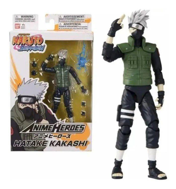 Boneco Articulado Kakashi Hatake  Naruto Bandai - Fun F00513