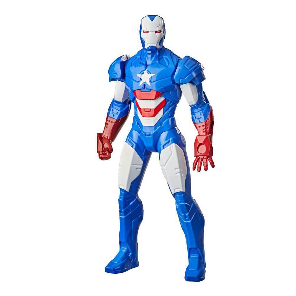 Boneco Articulado Marvel Olympus Patriota de Ferro - Hasbro F0777