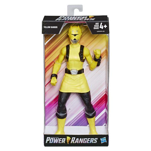 Boneco Articulado Power Rangers Yellow - Hasbro E6205/E5901