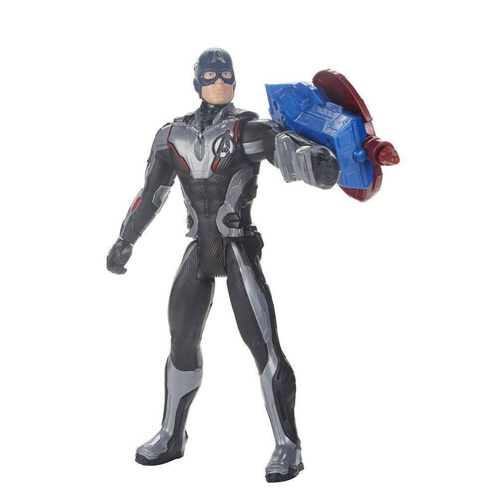 Boneco Capitão América 30Cm Titan Hero Power Fx E3301 - Hasbro