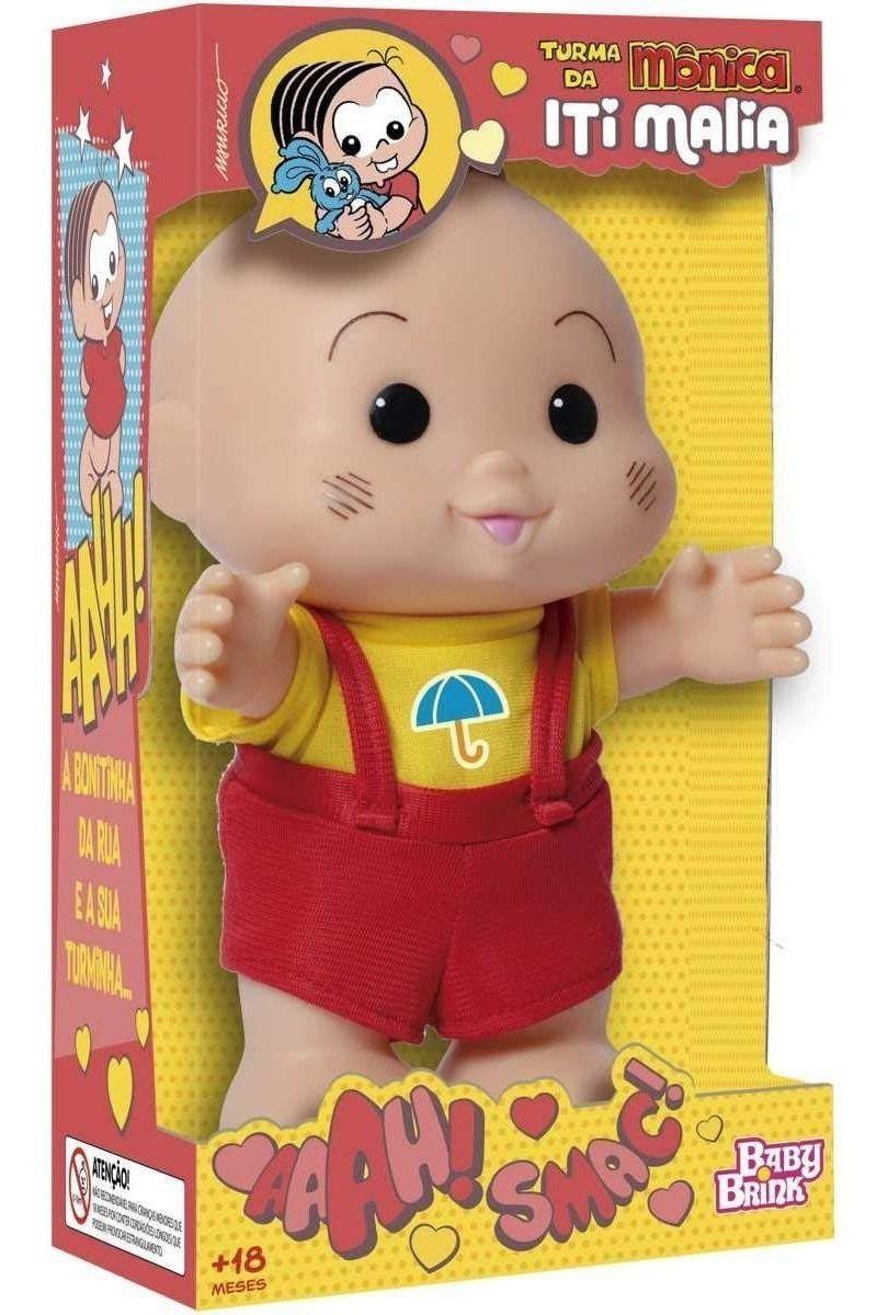 Boneco Cascão Iti Malia 1023 - Baby Brink