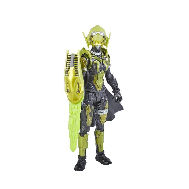 Boneco Cibervillain Roxy Power Rangers - Hasbro E5946/E5915