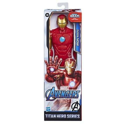 Boneco Homem de Ferro Titan Hero Blast Gear - Hasbro E7873