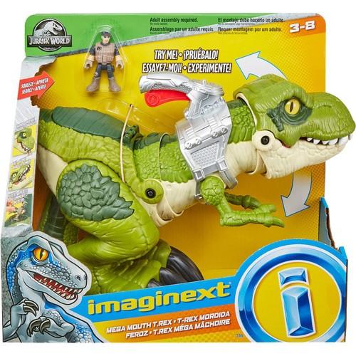 Boneco Imaginext T-Rex Mordida Feroz - Mattel GBN14