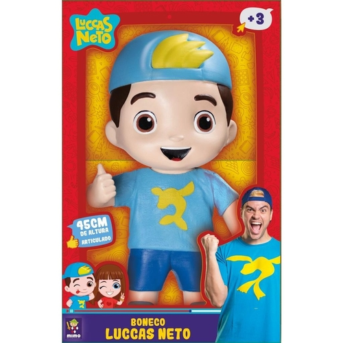 Boneco Luccas Neto Gigante 1000 - Mimo