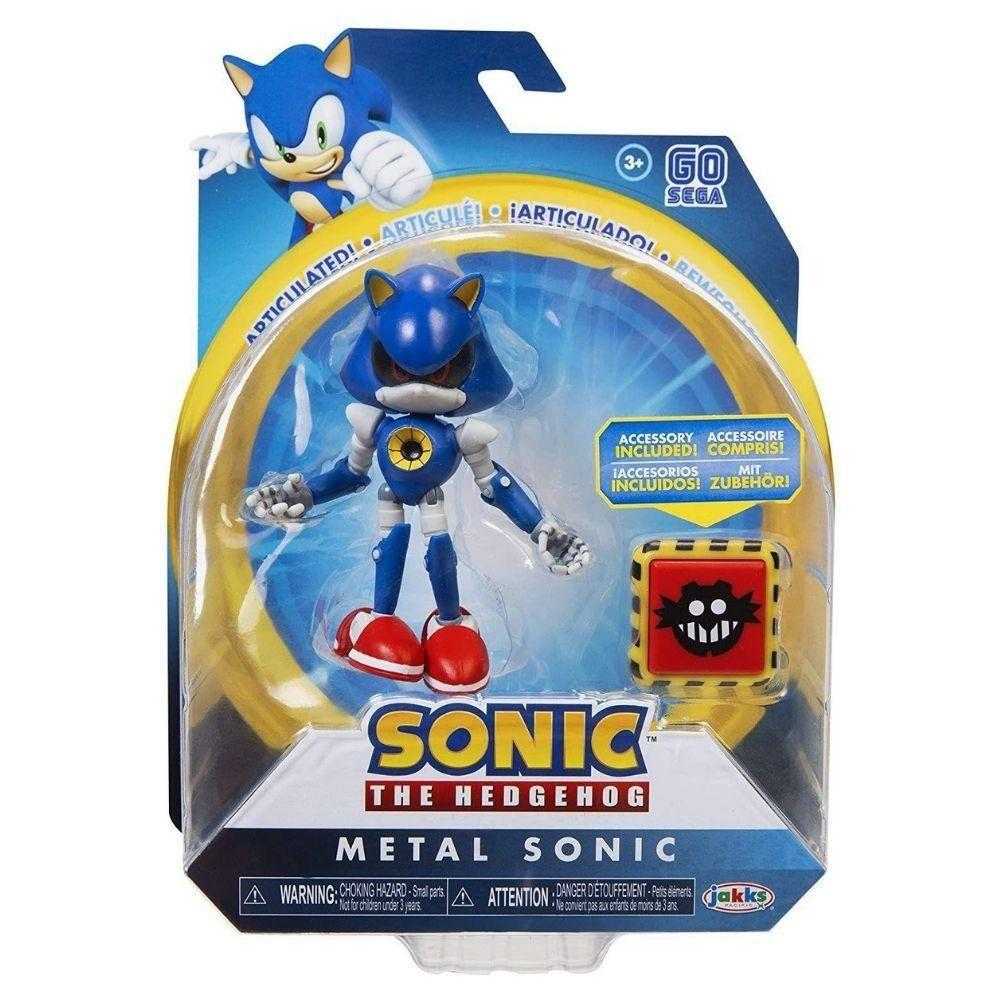 Boneco Metal Articulado The Hedgehog Sega - Fun F00662