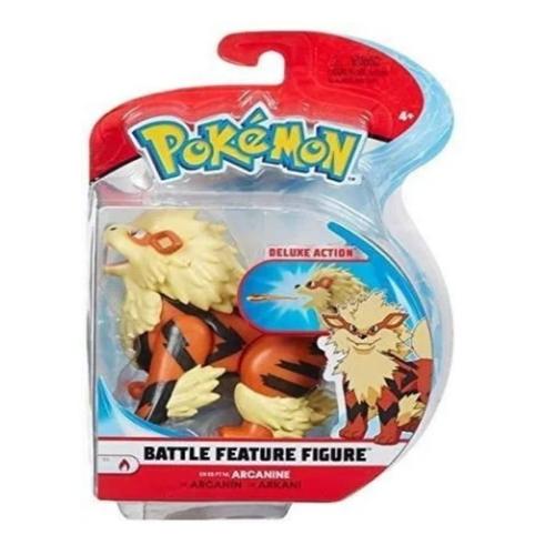 Boneco Pokemon Battle Figura Arcanine - Sunny 2602