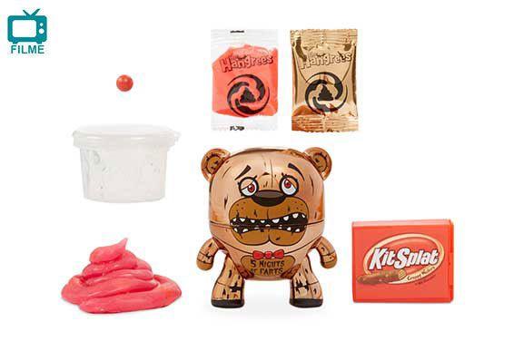 Boneco Poop Slime The Hangrees Series1 5Nights of farts 8800 - Candide