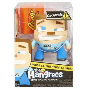 Boneco Poop Slime The Hangrees Series1 Cacacraft 8800 - Candide