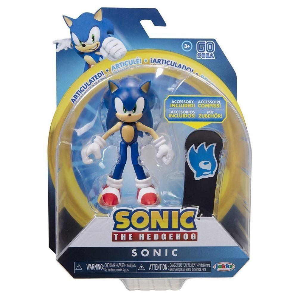 Boneco Sonic Articulado The Hedgehog Sega - Fun F00662