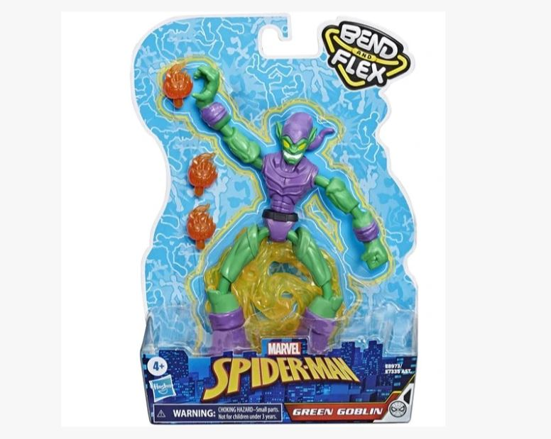 Boneco Spider-Man Green Goblin - Hasbro E7335