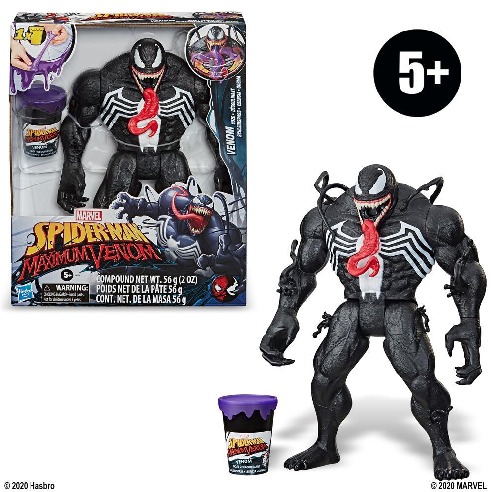Boneco Spider Man Series Venom com Slime - Hasbro E9001