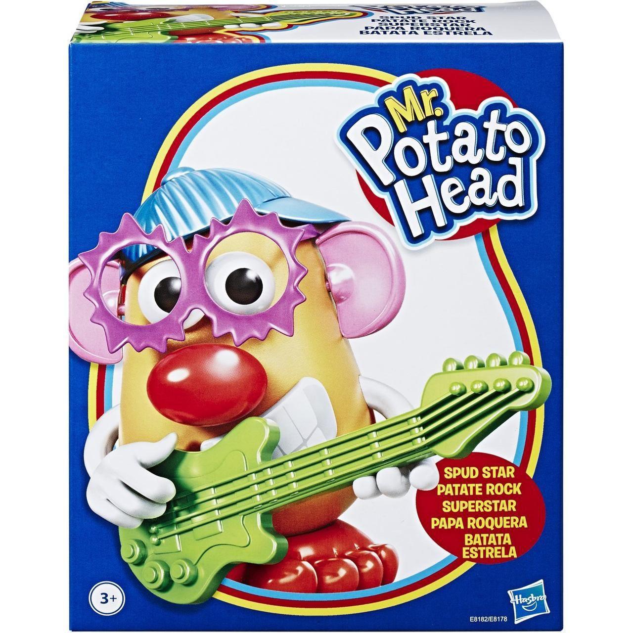 Boneco Sr Cabeça De Batata Rock Star - Hasbro E8178