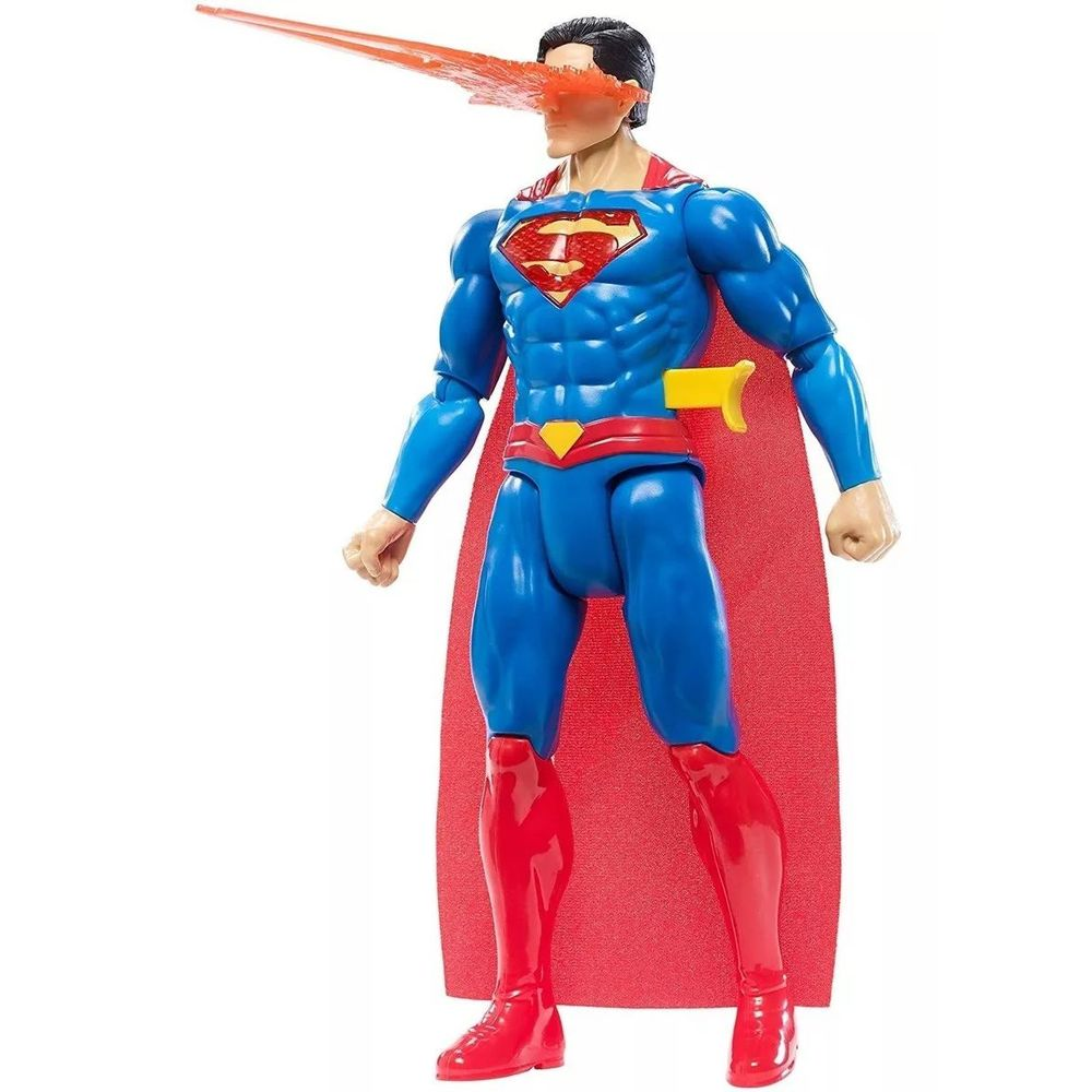 Boneco Super Homem Com Luz E Som - Mattel GFF36