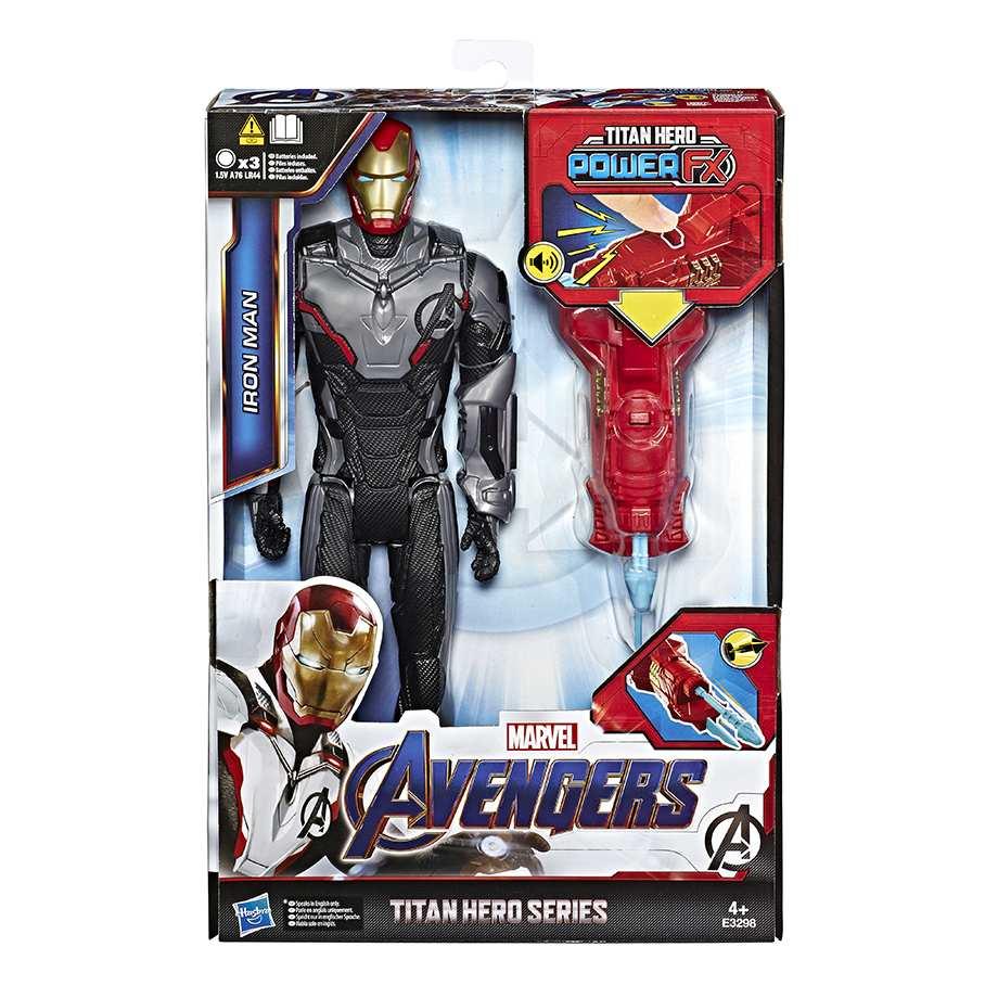 Boneco Titan Hero Homem de Ferro - Hasbro E3298